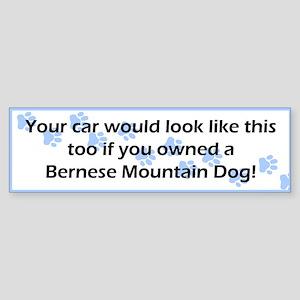 Your Car Bernese Mountain Dog Bumper Sticker
