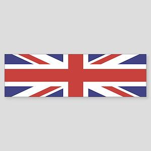 UNION JACK UK BRITISH FLAG Bumper Sticker