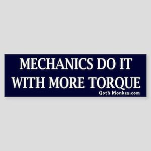 Mechanics Bumper Sticker