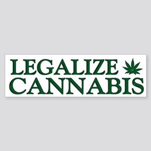 Legalize Cannabis Sticker
