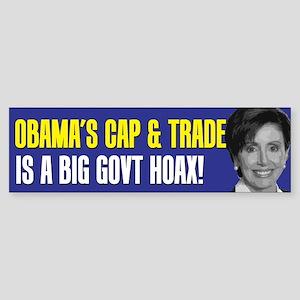 Obama's Cap and Trade Bumper Sticker