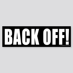 Back Off (sticker)