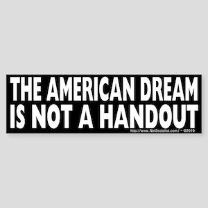 The American Dream v2 Sticker