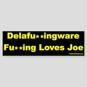 Delaware Loves Joe Biden Sticker (Bumper)