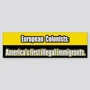 Illegal Immigration Bumper Sticker