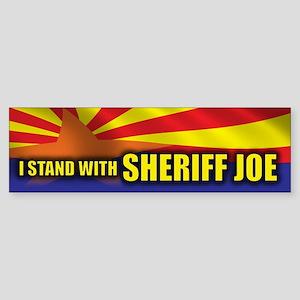 I Stand with Sheriff Joe Sticker (Bumper)