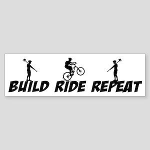 Build Ride Repeat Sticker (Bumper)