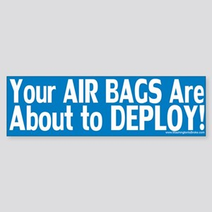 AirBags Deploy: Sticker (Bumper)