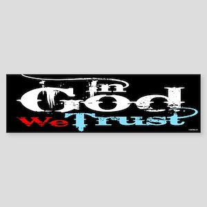 In God We Trust! Sticker (Bumper)
