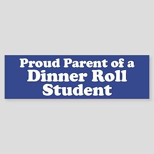 Dinner Roll Student Sticker (Bumper)