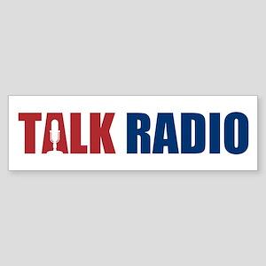 Talk Radio Sticker (Bumper)