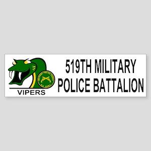 519th MP Battalion <BR>Bumper Sticker