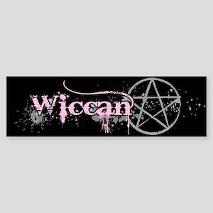 Wiccan Pink Sticker (Bumper)
