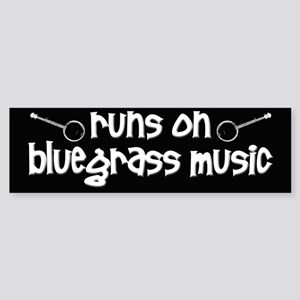 Bluegrass Music Sticker (Bumper)