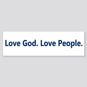 Just Love Sticker (Bumper)
