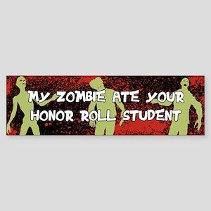 Zombie Sticker (Bumper)
