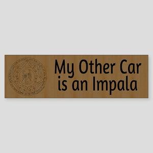 My Other Car is an Impala Sticker (Bumper)