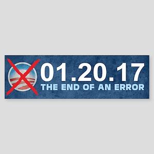 The End of an Error Sticker (Bumper)