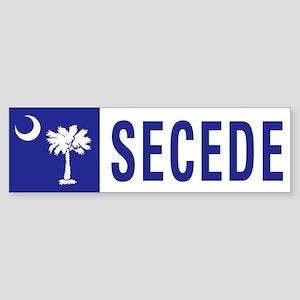 Secede - SOUTH CAROLINA Sticker (Bumper)