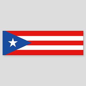 Puerto Rico - PR Sticker (Bumper)