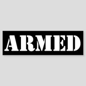 Armed Sticker (Bumper)