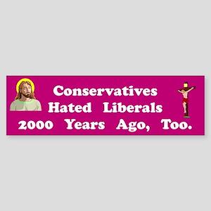 Hated Liberals #2 Bumper Sticker