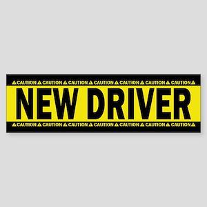 New Driver! Caution! (bumper) Bumper Sticker