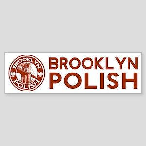 Brooklyn New York Polish Bumper Sticker