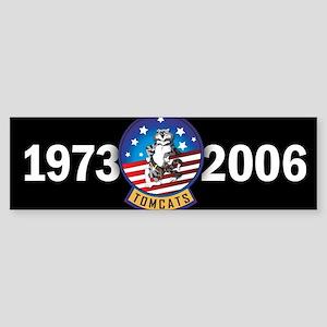 Tomcat Years Bumper Sticker