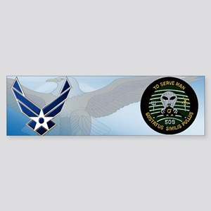 509th Bomb Group Bumper Sticker