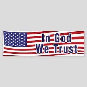 In God We Trust (bumper) Bumper Sticker