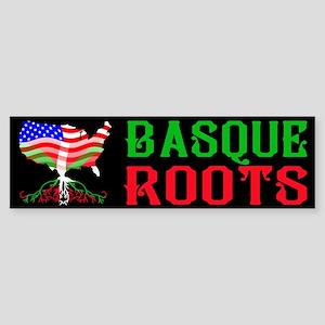Basque American Roots Bumper Sticker