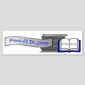 Friends of the Library Bumper Sticker