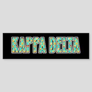 Kappa Delta Emoji Sticker (Bumper)