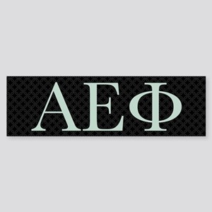 Alpha Epsilon Phi Logo Sticker (Bumper)