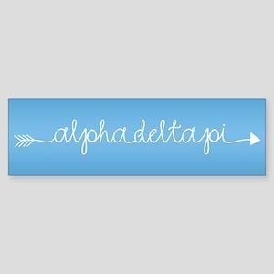 Alpha Delta Pi Sticker (Bumper)