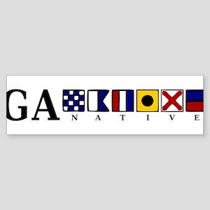 GA native Sticker (Bumper)