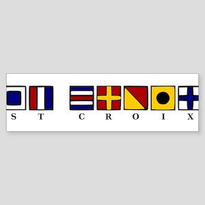 Nautical St. Croix Sticker (Bumper)