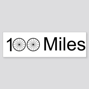 Century Ride Sticker (Bumper)
