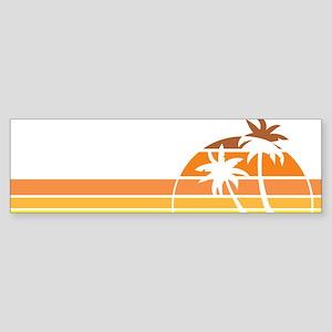 nebraskaBeach1F Sticker (Bumper)