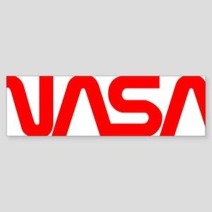 NASA Spider Logo Sticker (Bumper)