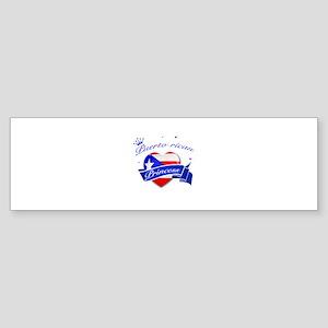 Puertorican Princess Sticker (Bumper)