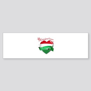 Hungarian Princess Sticker (Bumper)