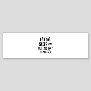 Eat Sleep Guitar Sticker (Bumper)
