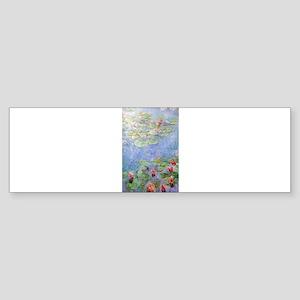 Claude Monet's Water Lilies Bumper Sticker