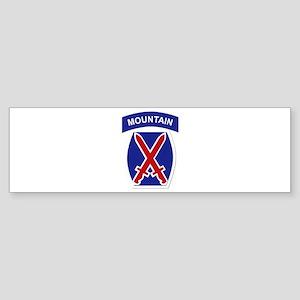 SSI - 10th Mountain Division Sticker (Bumper)