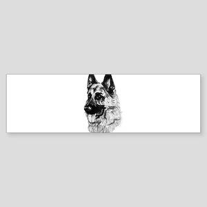 German Dog Bumper Sticker