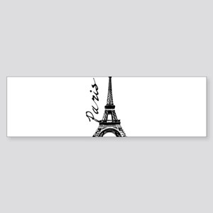 Paris Eifel Bumper Sticker