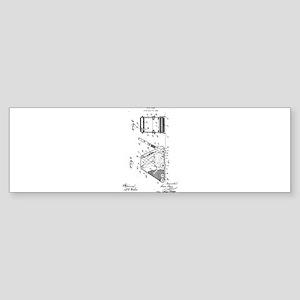 1927 L. Durr Floor Sander Bumper Sticker