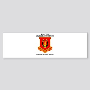 DUI - H Btry (Tgt Acq) - 26th FA Regt with Text St